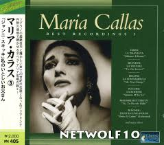 Maria Callas ‎– Best Recordings 3