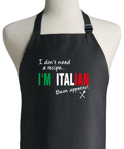 italianrecipeapron