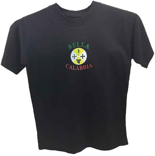 kids tshirt calabria black