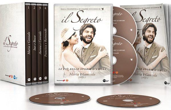 Il Segreto – Le più belle storie d'amore (4DVD) 499749