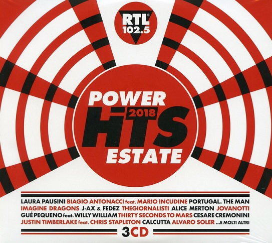 power hits 2018 estate 3cd a